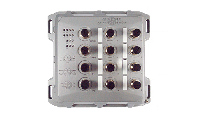 EMG8508 Series / Industrial Ethernet Switch / Industrial PoE Switch