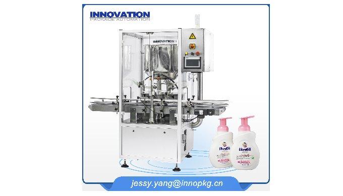 Automatic Detergent(dishwashing) liquid Filling Production line Introduction INNOPKG designed fully ...