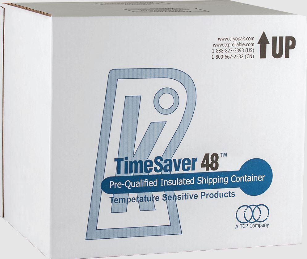 Emballage TimeSaver™ 2-8°C de Cryopak