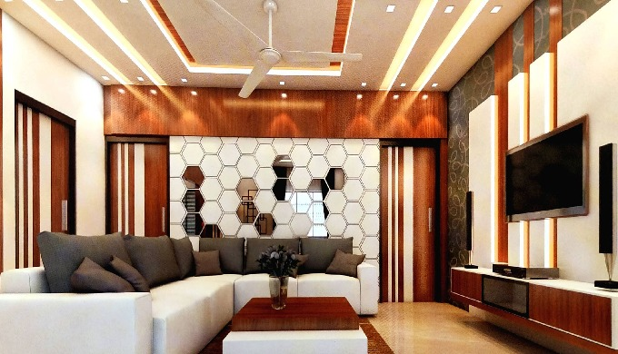 Complete Interior Designing solutions for your place including Furniture and Automatic Electrical fi...