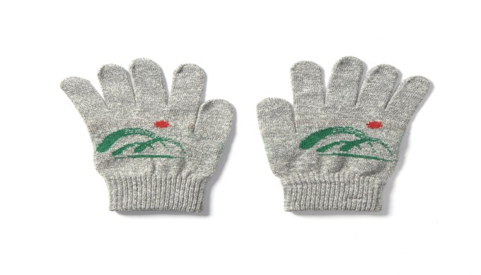 touch gloves (Logo) | knit gloves