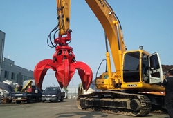 * Maxpower Scrap grapple / orange grapple offers high accuracy and long-term life with less maintena...