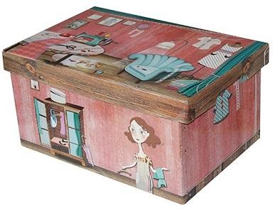 Children´s box 48cm tailor, Chupíková collection