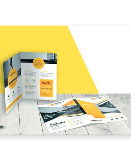 Impression de plaquette commerciale, brochure