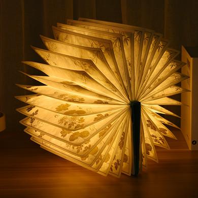 LED flower paper lamp