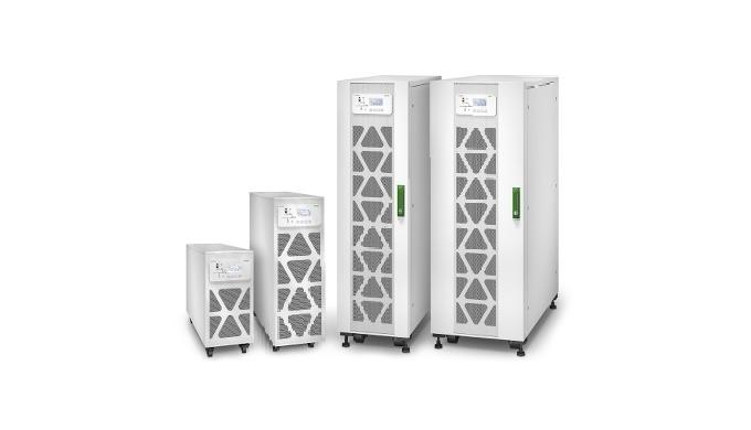 L'onduleur triphasé EASY UPS 3S est parfaitement adapté pour protéger des charges critiques dans les...