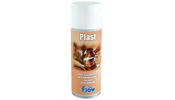 PLAST SPRAY PLASTIFICANTE IMPERMEABILIZZANTE, ISOLANTE, ANTICORROSIVO. Forma una pellicola trasparen...