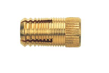 Les Chevilles en laiton PA 4 M 6/13,5 sont des chevilles en laiton pour les matériaux en plaques fin...