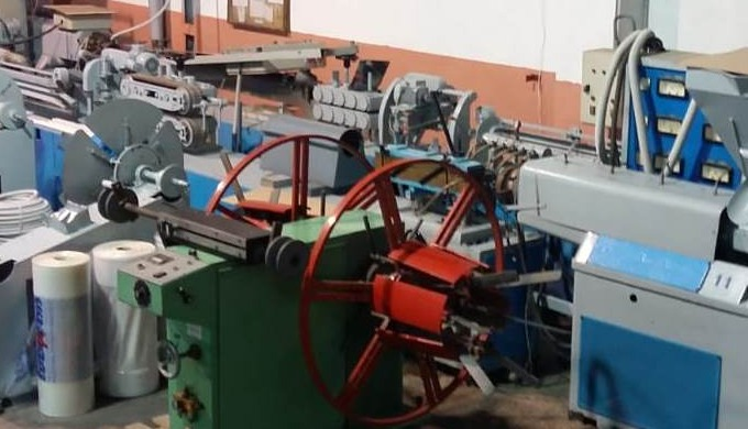 PRODUCTION UNIT FOR THE MANUFACTURE OF TUBES AND PROFILES FOR THE PIPE AND ELECTRICAL INSTALLATIONS FOR ALL TYPES OF BUILDINGS AND INDUSTRY IN GENERAL