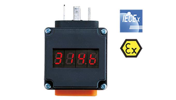 Versorgung aus der 4 - 20 mA Schleife Anzeige: 4-stellige, rote LED Anzeigebereich: -1999 ... +1999 ...