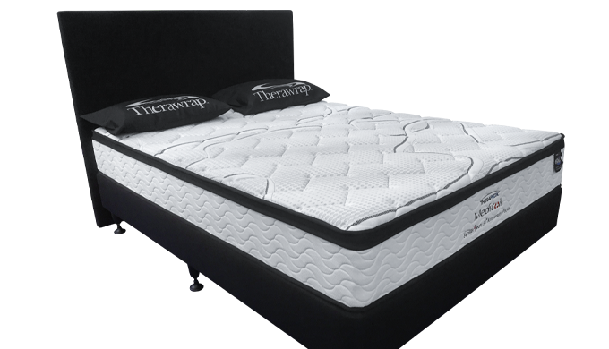 This medium-firm mattress is our entry-level pocket spring bed. Features a 3-zone pocket spring syst...