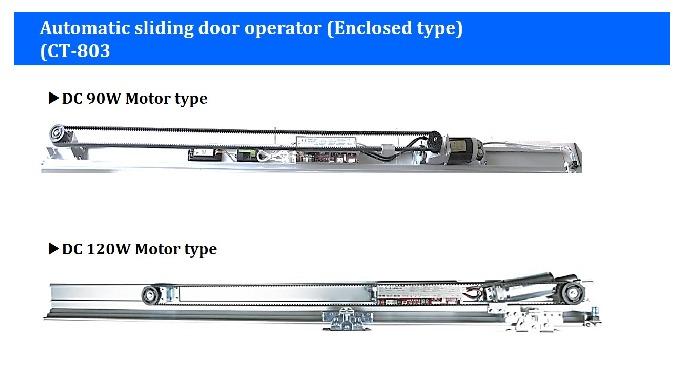 Automatic sliding door operator(Enclosed type) CT-803