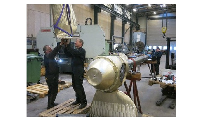 MarineShaft, Repair of propeller equipment