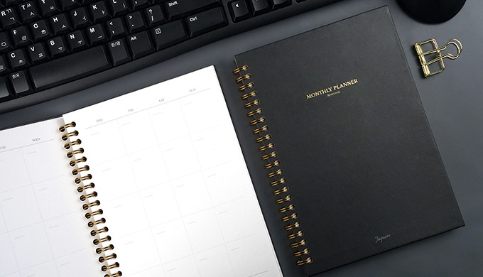 Reservoir Monthly Planner A5 (Hard Cover)
