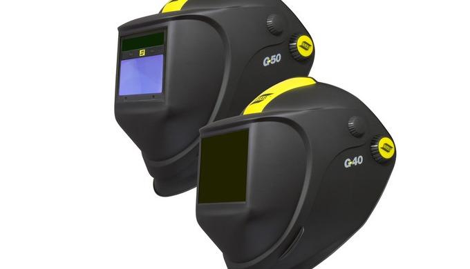 Le G40 et G50 est un casque combiné de soudage et de meulage. Le G40 possède un verre minéral passif...
