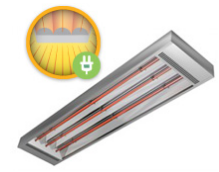 An ideal product for total or zone heating in larger areas with ceiling heights above 3m. Also suita...
