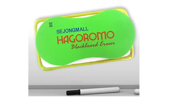 Microfiber Magnetic All-Board Eraser(L)/1EA
