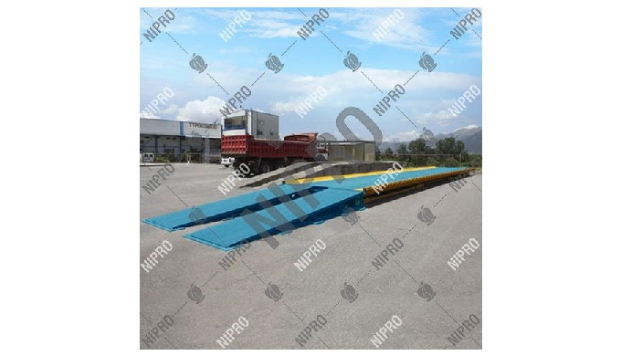 Material: Mild Steel Brand: Nipro Platform Size: 18 x 3m Capacity: 100 Ton Number of Load Cells: 10 ...