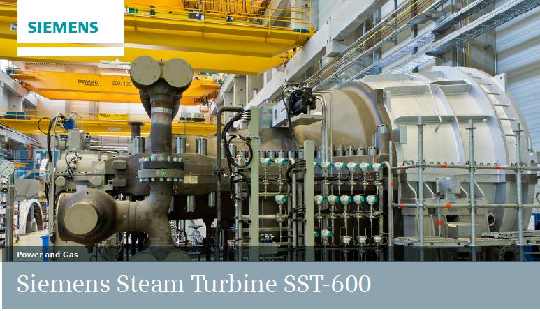 Parní turbína SST-600