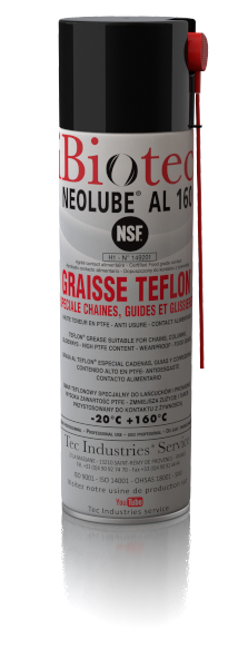 NEOLUBE AL 160 GRAISSE BLANCHE A HAUTE TENEUR EN TEFLON