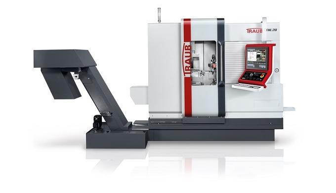 Nya TRAUB TNL20 – en extremt effektiv längdautomatsvarv Produktiv längdsvarvning och kortsvarvning f...