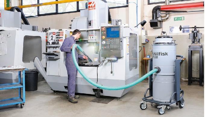 Fiabilité, puissance et simplicité sont les caractéristiques des aspirateurs industriels Nilfisk S2B...