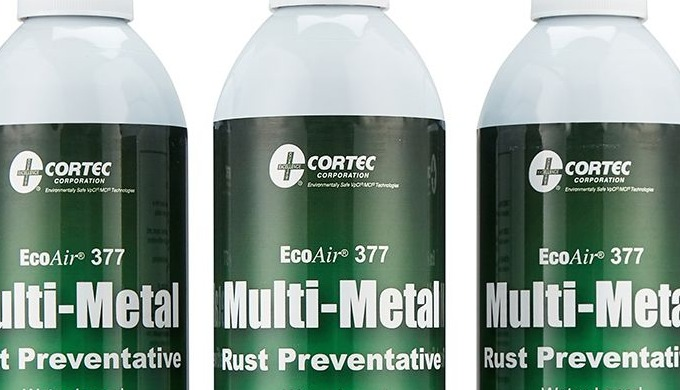 Cortec VPCI 377 is a market leading rust prevention spray. Ideal for temporary corrosion protection ...