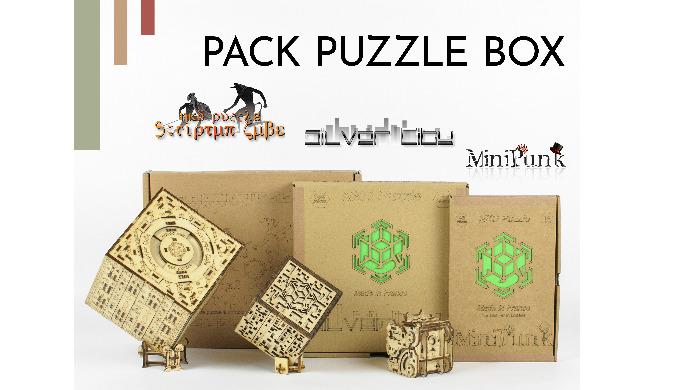 NKD Puzzle lance un pack spécial pour découvrir la Puzzle box !