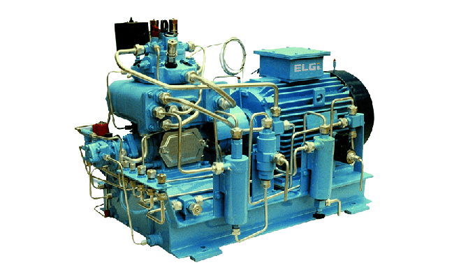 OIL LUBRICATED PISTON AIR COMPRESSORS - CUSTOM BUILT COMPRESSORS