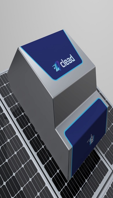 2_Solar panel cleaning robot [Clead T-1004]