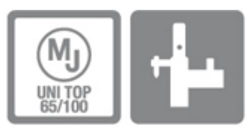 Náš systém lešení MJ UNI TOP 65/100 je kompatibilní s lešením