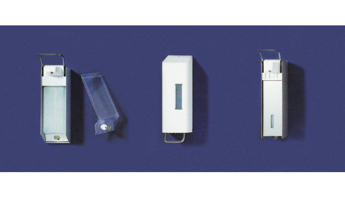 SOFTMAT-SPENDER 1000 Für Produkte in der 1000ml Flasche, mit kurzem Hebel und Verschlussplatte HERCU...