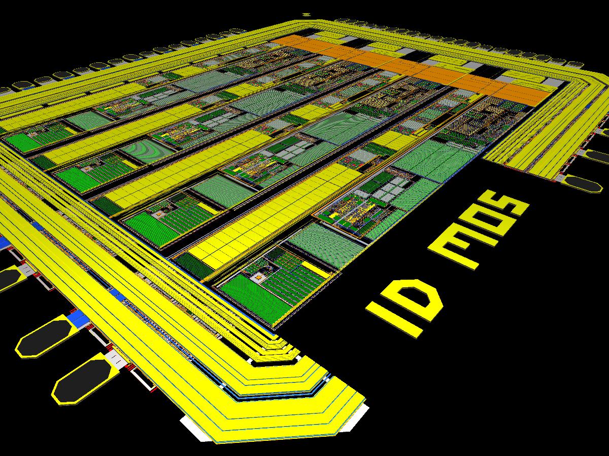 Conception de circuits intégrés spécifiquement sur besoin client. Une équipe d'ingénieurs confirmés ...