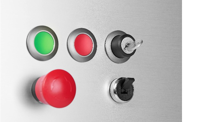Series 45 pushbuttons.