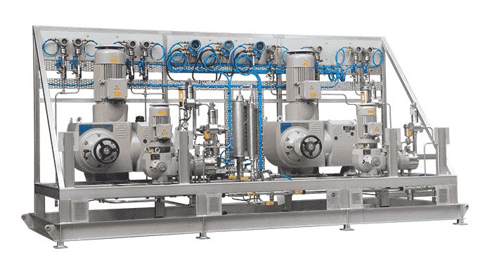 Systemløsninger Kundetilpassede special opbygninger inden for procesteknik, doseringsanlæg, hydrauli...