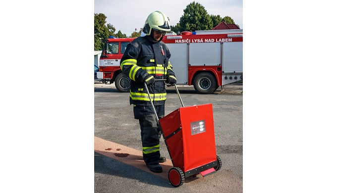 The Sorbent Dispenser Cart has been designed for use wherever it is necessary to use powdered sorben...