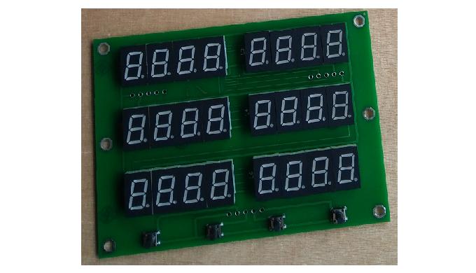 ENDA DISP-24 generator LED display card LED matrix font for ED212 control box generator display,led ...