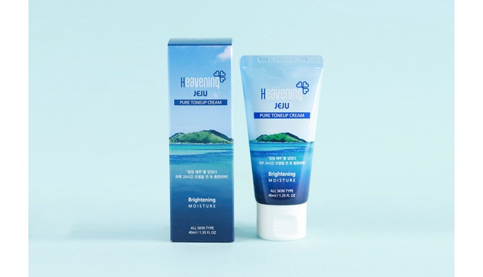 HEAVENING JEJU PURE TONEUP CREAM 40ml