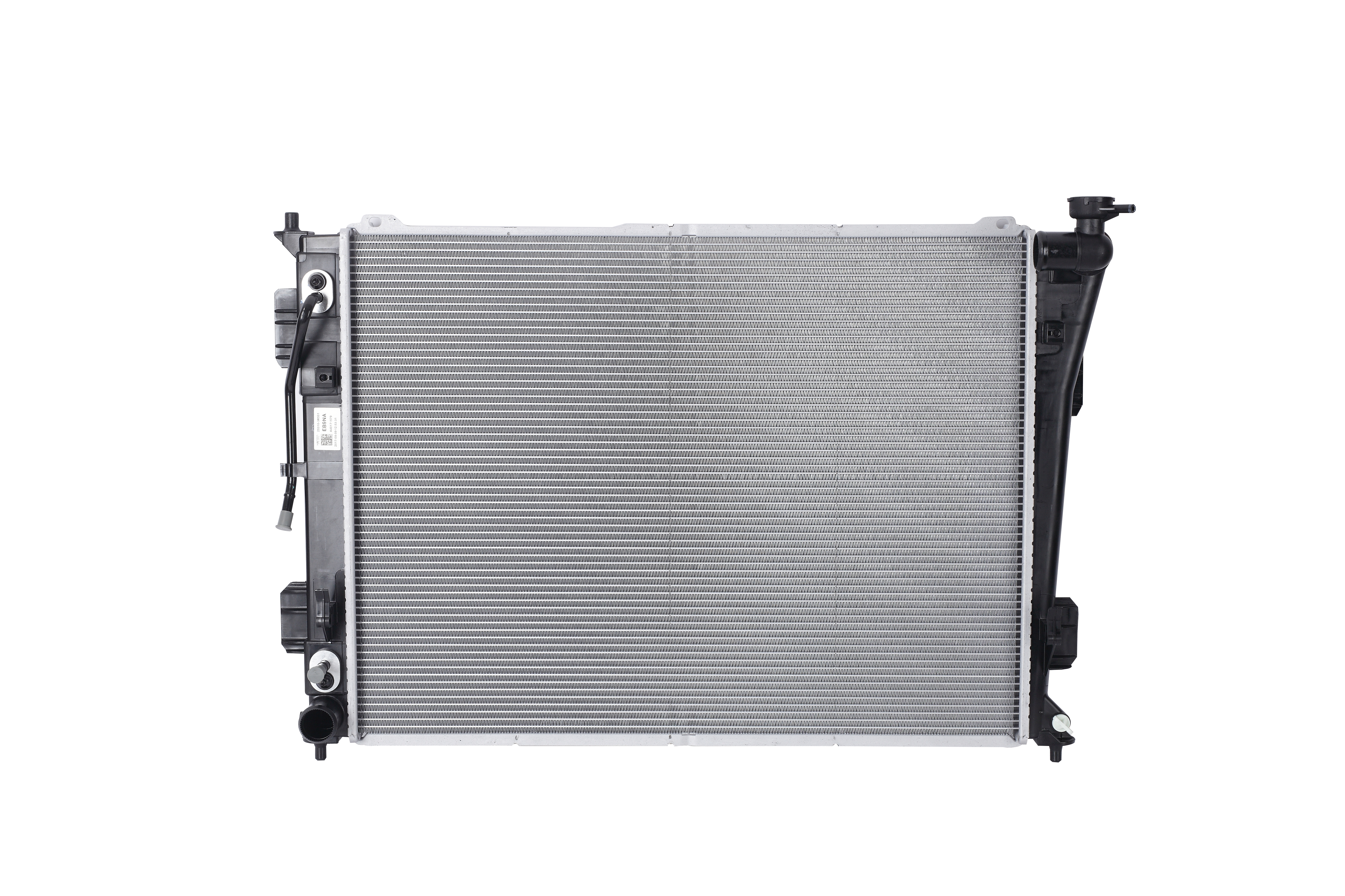 The radiator is necessary to regulate engine temperature through a heat exchange process involving r...