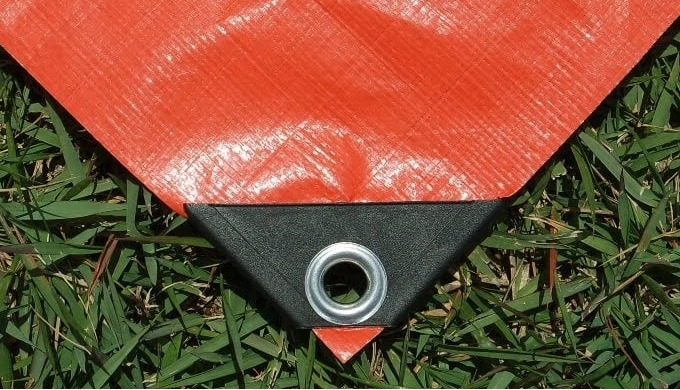 │ DESCRIPTION │ Weight : 140gr/m2 (±5%) 10 x 10/sq.inch, laminated both sides Every grommet by Alumi...
