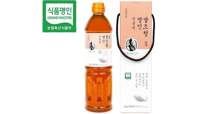 Kang-Myung-in-Chung (sciroppo di cereali del Maestro) | cibo coreano