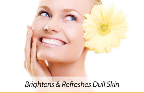 This facial treatment effectively targets uneven skin tone and dull skin using a full spectrum of na...