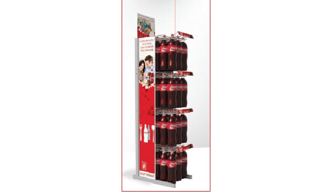 Стенд для напитков Coca Cola