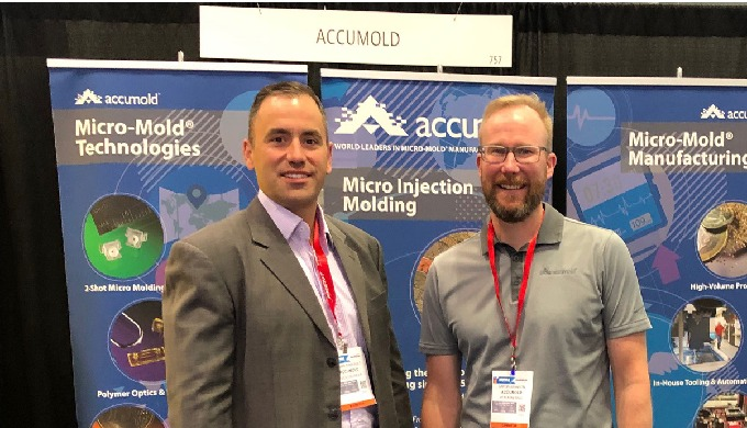 Accumold At MD&M East, 2019