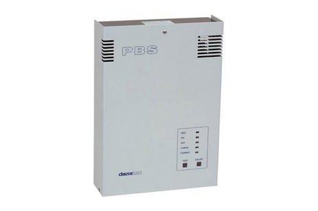 Equipo de alimentacion Pbs. preparado para suministrar tensión una tensión de -6 V cc. en presencia ...