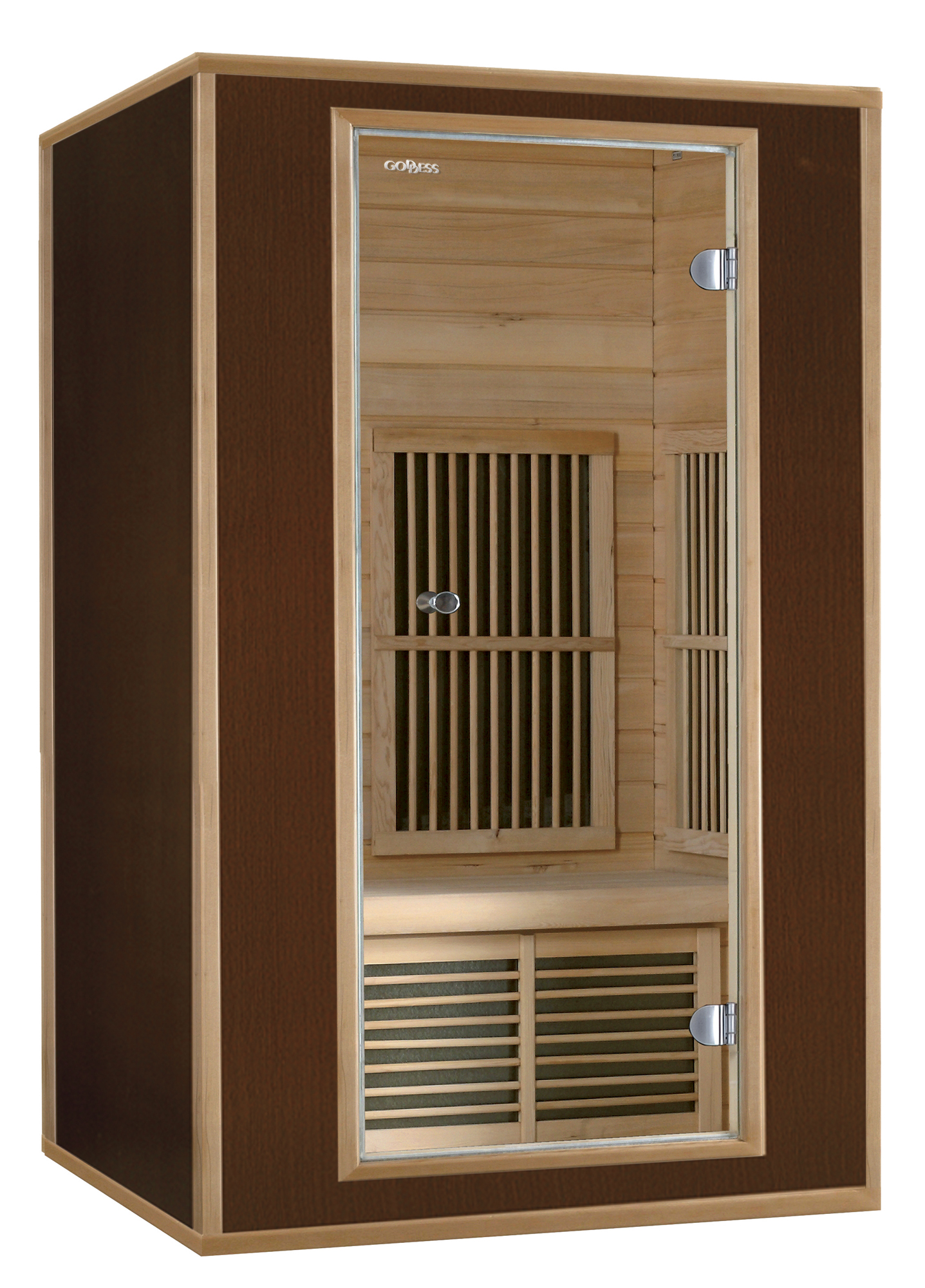 Domácí infrasauna Goddess RIMINI je určená pro dvě osoby. Kabina infrasauny je vyrobena z exkluzivní...
