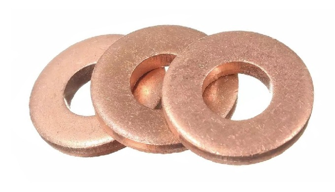 Copper Flat Washer