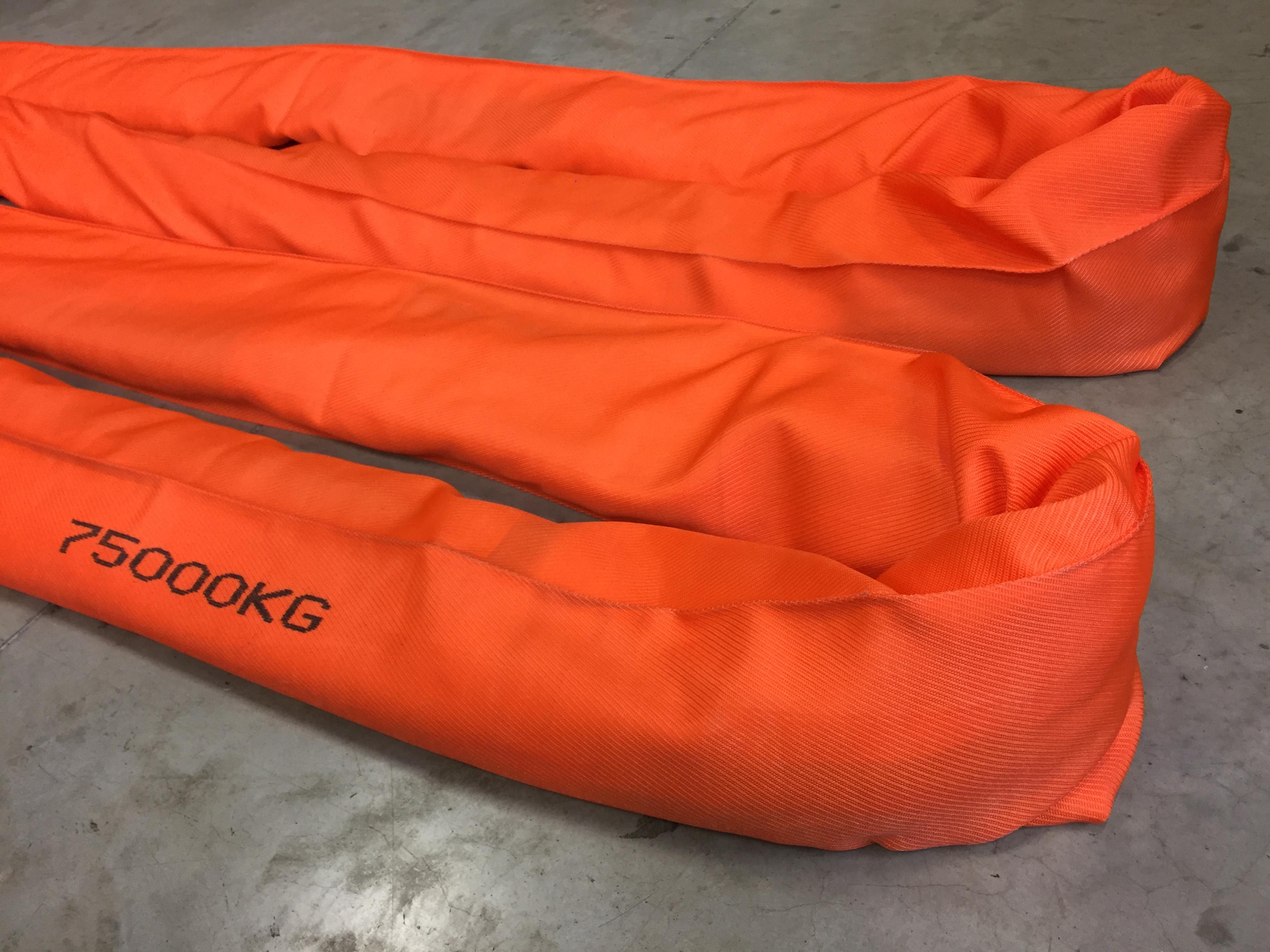 Allweb is Fabrikant van Polyester Eindloze rondstroppen voor zware lasten tot 150 Ton SF7:1. Belgisc...