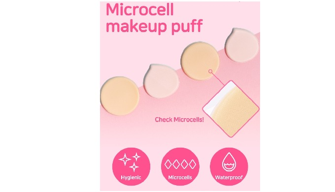 Microcell Silicone Makeup Puff. Beauty Puff