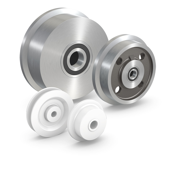 Aus Werkstoffen wie z.B. PEVOLON®, Stahl und Grauguss fertigen wir serienmäßig eine Vielzahl von Spu...